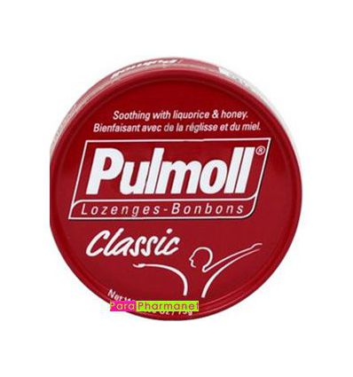 Pulmoll pastilles to be sucked classic red box of 75G