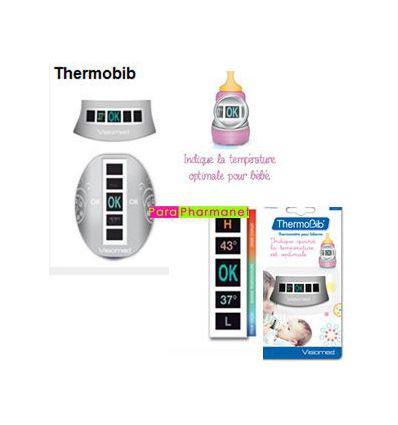 Thermobib Thermomètre for feeding-bottle VM-BIB 2 bib WIDE Visiomed