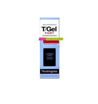 T/Gel Strong shampoo 250 ml bottle NEUTROGENA