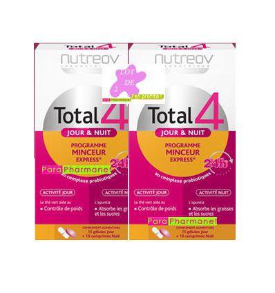 Total 4 Jour & Nuit Duo Programme Minceur Physcience NutreoV