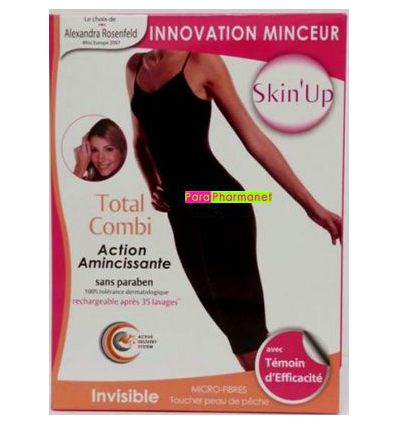 TOTAL COMBI INVISIBLE Noir TS 38/40 Skin Up TI 104N-S 9798726