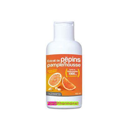 Extraits de Pépins de Pamplemousse 100 ml Nutrisanté