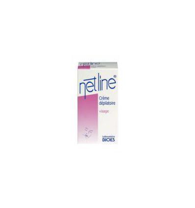 Netline Crème dépilatoire Visage. BIOES
