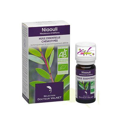 Organic Essential oil Niaouli Dr Valnet