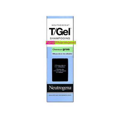 T/Gel Normal to Greasy Hair - 250 ml bottle. NEUTROGENA