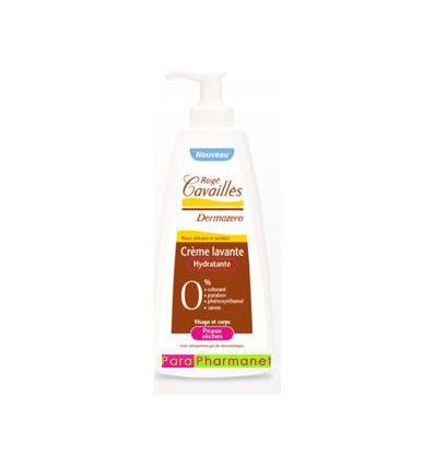 Dermazero 500 mlmositurising cleansing cream dry skin Roge Cavailles