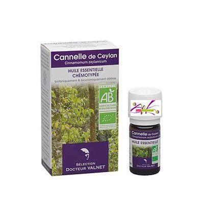 Huile essentielle BIO Cannelle 5 ml Docteur Valnet
