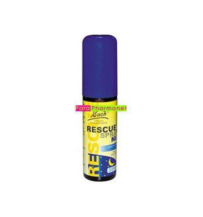 Rescue Nuit Spray 20 ml Nuits paisibles Fleurs de Bach