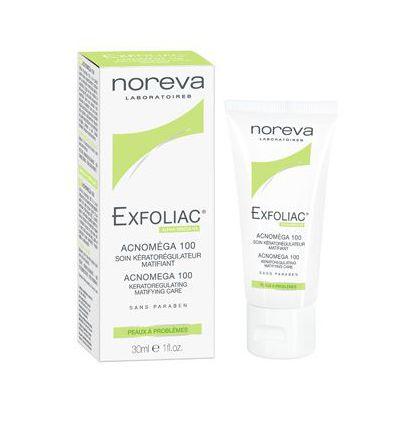 Acnomega 100 face care keratoregulating matifying face EXFOLIAC