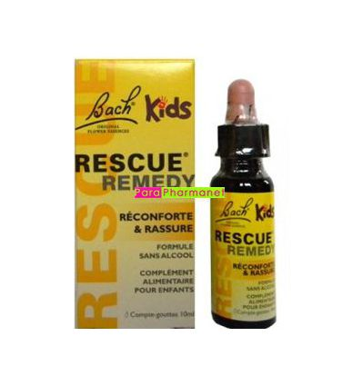 Rescue Remedy Kids Flask 10 Ml Bach Flowers Parapharmacy