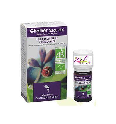 Huile essentielle BIO giroflier (Clou de) 5 ml Docteur Valnet