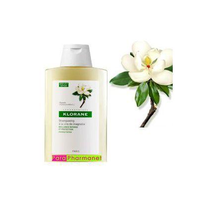 Shampoing à la Cire de Magnolia 400ml KLORANE Soin Cheveux ternes