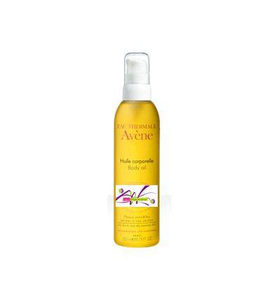 Body oil 200ml bottle Avène body care AVENE