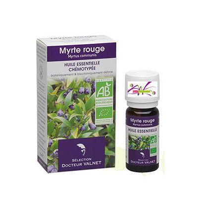 Organic Essential oil Red Myrtle Dr Valnet