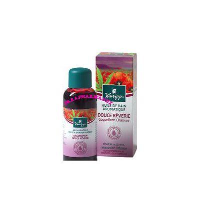 Pure bliss Bath aromatic oil Soft dream Red poppy hemp Kneipp