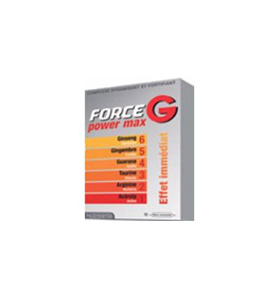Force G Power Max Nutrisante 10 ampoules