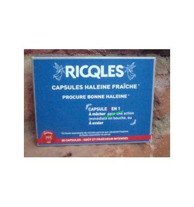 Capsules Haleine Fraîche Ricqles 30 capsules