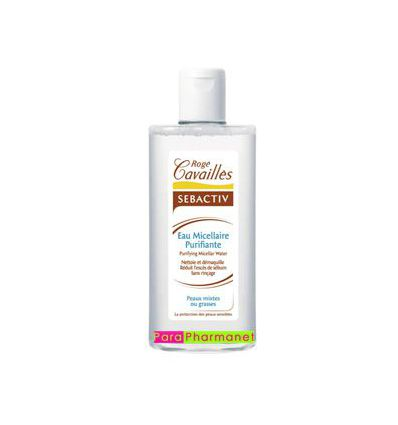 Purifying SEBACTIV micellar water 250 ml face care R. Cavailles