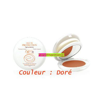 Solar Avene compact tinted golden high protection powder 10g