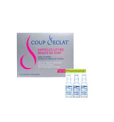 Lifting Face 3 vials of 1 ml COUP D ECLAT