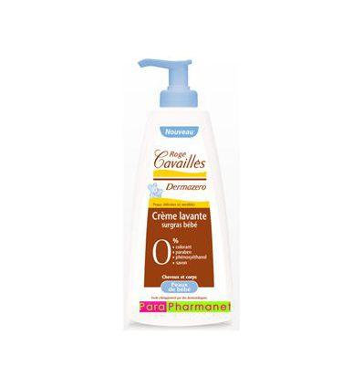 Dermazero Crème lavante Surgras Bébé 500 ml peaux sensibles Roge Cavailles