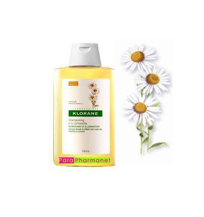 Shampoing à la camomille 400 ml blondissant et illuminateur Klorane