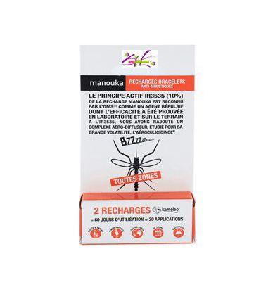 Refill Bracelets anti-mosquitoes Manouka