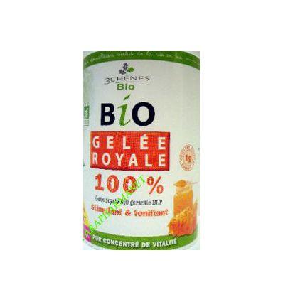 Royal jelly 100 % Bio 30 g -Les 3 Chênes