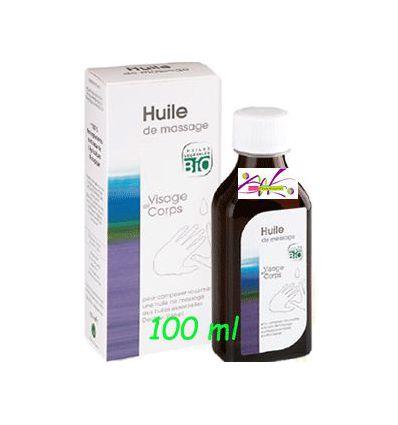 Huile de massage BIO 100 ml Aromathérapie Valnet