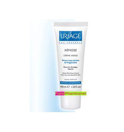 Xémose face cream Uriage tube 40 ml