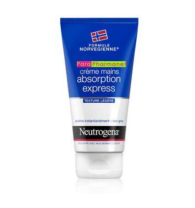 crème Mains Absorption express 75 ml Texture Légère NEUTROGENA