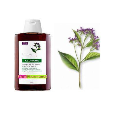 Shampoing fortifiant à la quinine + complexe vitamines B 400 ml Klorane