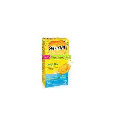 Supradyn MAGNESIA 30 effervescents tablets Bayer Health