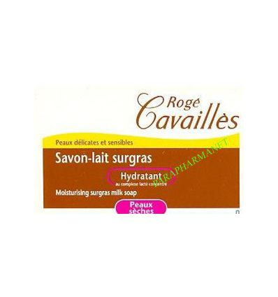 Milk-Soap surgras moisturising bar 100G Rogé Cavaillès