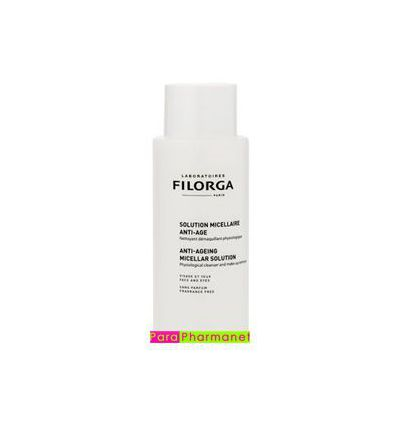 Anti-ageing micellar solution face care make-up remover 400ml Filorga