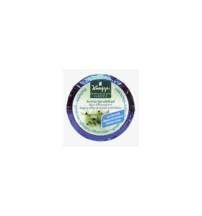 Extra Effervescent Bath Pebble Juniper. KNEIPP