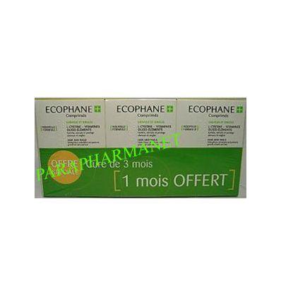 Ecophane Cheveux et Ongles CURE DE 3 MOIS. BIORGA