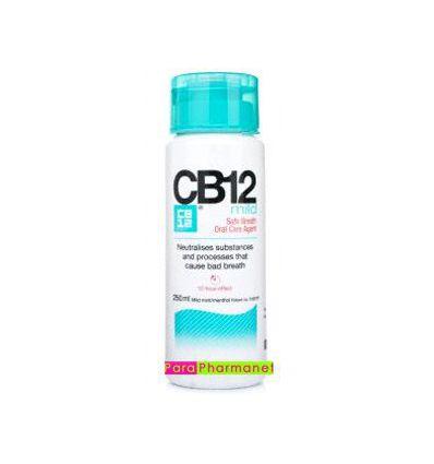 CB12 mild actif pour haleine 250ml bain de bouche menthe
