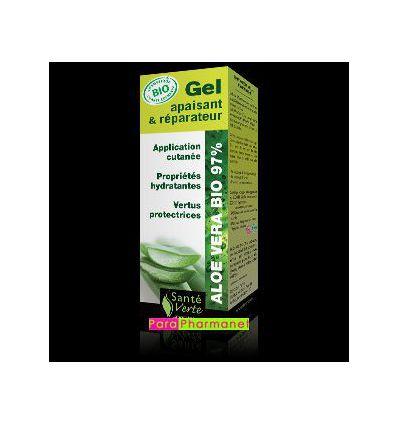Gel Apaisant & Réparateur Aloe Vera Bio Santé Verte