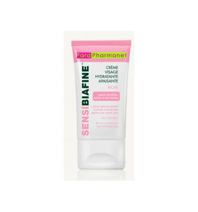 Rich Moisturizing face cream SENSIBIAFINE