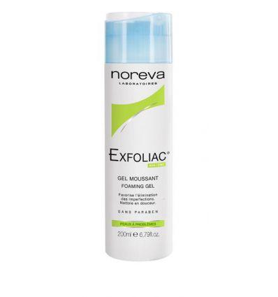Gel Moussant hygiène peaux jeunes flacon 200ml EXFOLIAC