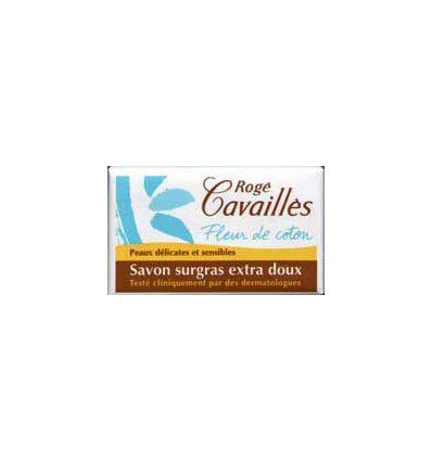 SAVON FLEUR COTON ROGE CAVAILLES 150G