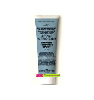 Liniment Tendinite sport Les chochottes tube 75 ml