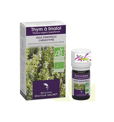 Essential oil Thyme Organic Linalol Doctor Valnet
