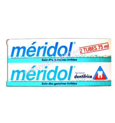 Dentifrice MERIDOL Soin Gencives Irritées 2*75 ml