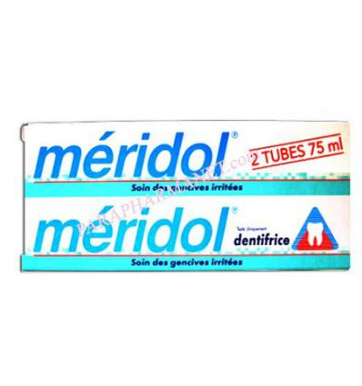 Toothpaste Meridol care iritated gums 2*75 ml