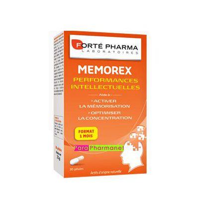 MEMOREX performances Intellectuelles Forte Pharma