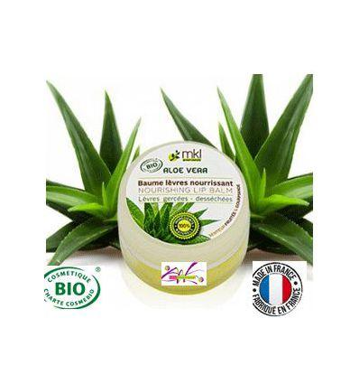 Baume lèvres Aloe vera soin lèvres gercées MKL