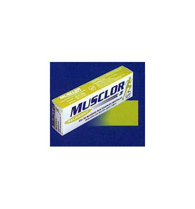 Musclor relaxant gel massage vert MUSCLOR