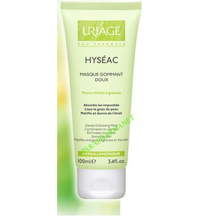 Hyséac gentle exfoliating mask Uriage